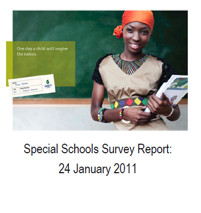 Special Schools Survey Report, 24 January 2011