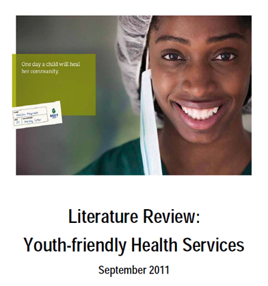 Literature Review: Youth-friendly Health Services, September 2011