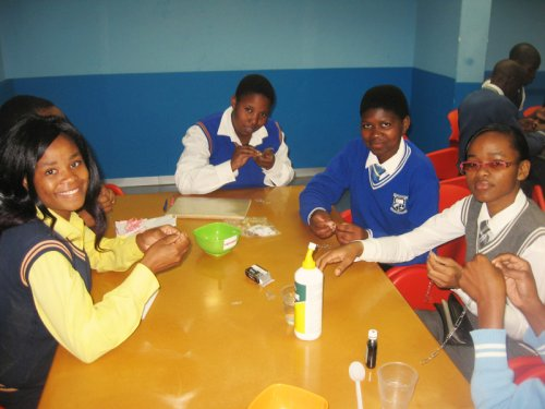 Learners at KZN Science Centre