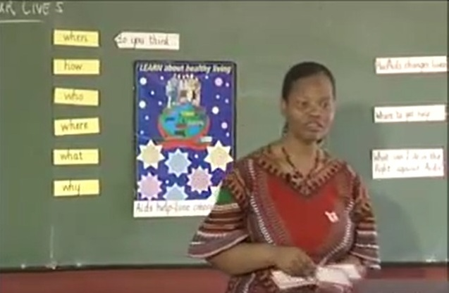 Teaching HIV AIDS awareness in the classroom: Part 3