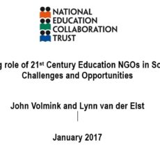The evolving role of 21st Century Education NGOs in South Africa: Challenges and Opportunities