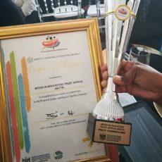 MIET AFRICA Wins Award