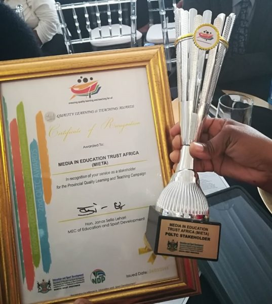 MIET AFRICA Wins Award