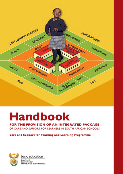 Handbook for the provision of an integrated package of care and support: Care and Support for Teaching and Learning Programme