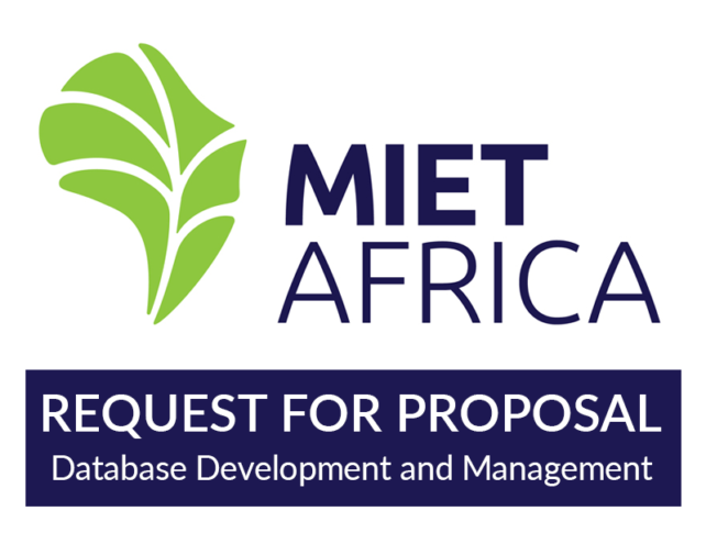Request for Proposal: Database Development and Management