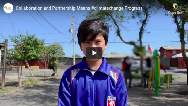 Collaboration and Partnership Means #climatechange Progress!