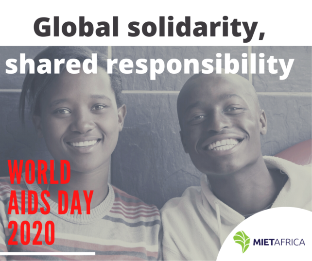 World Aids Day 2020 – Colliding Pandemics of HIV and COVID-19